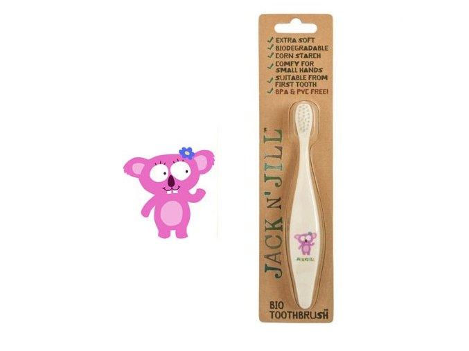Bio zubná kefka pre deti Koala